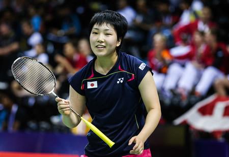 山口茜、世界選手権3位を破る
