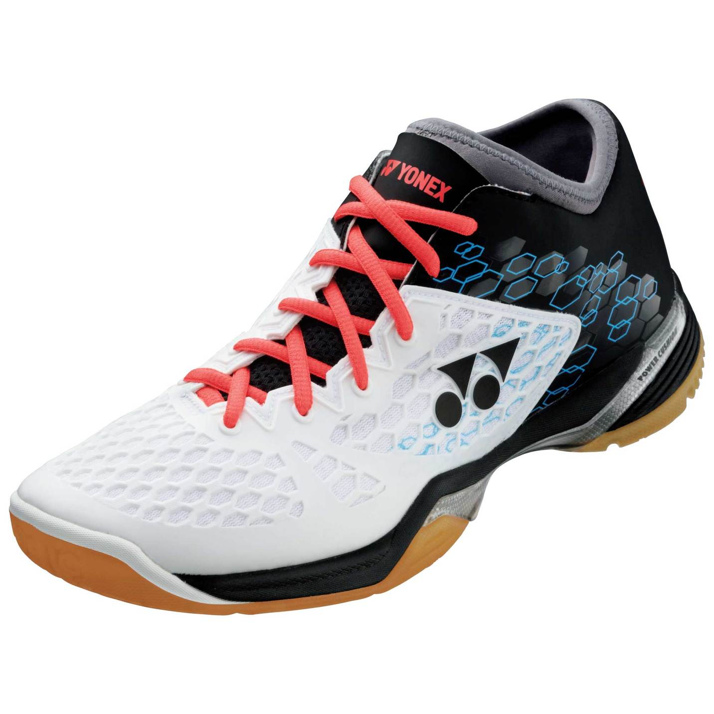 Black And White Badminton Shoes