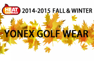 YONEX GOLF WEAR FALL & WINTER 2014