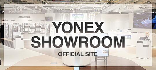 YONEX SHOWROOM OFFICIAL SITE
