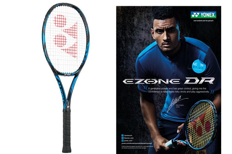 220c4be964f43b ... 高次元のスピードショットを生む最先端「ナノメトリックDR」を搭載 「EZONE DR」新デザイン2016年10月上旬発売|NEWS ニュース  | YONEX TENNIS ヨネックステニス